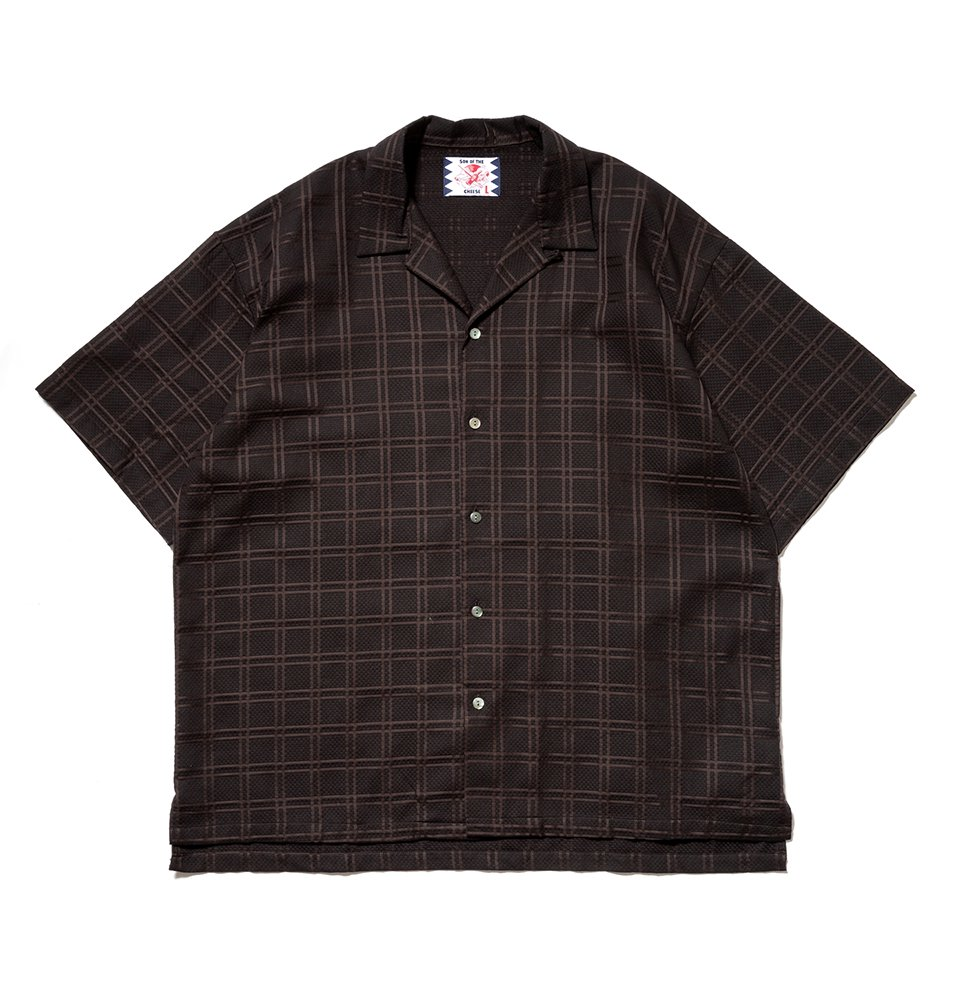 Check SS Shirt(BLACK)