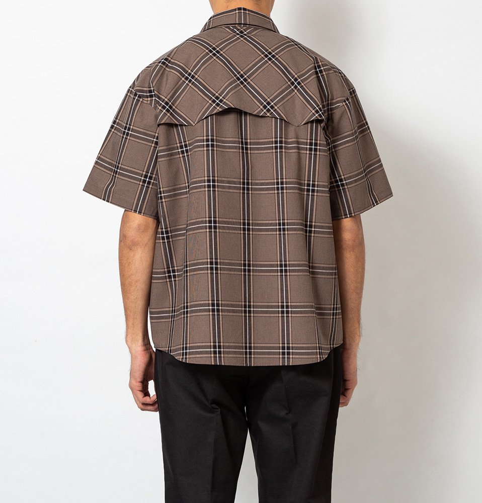 Western SS Shirt(BROWN)