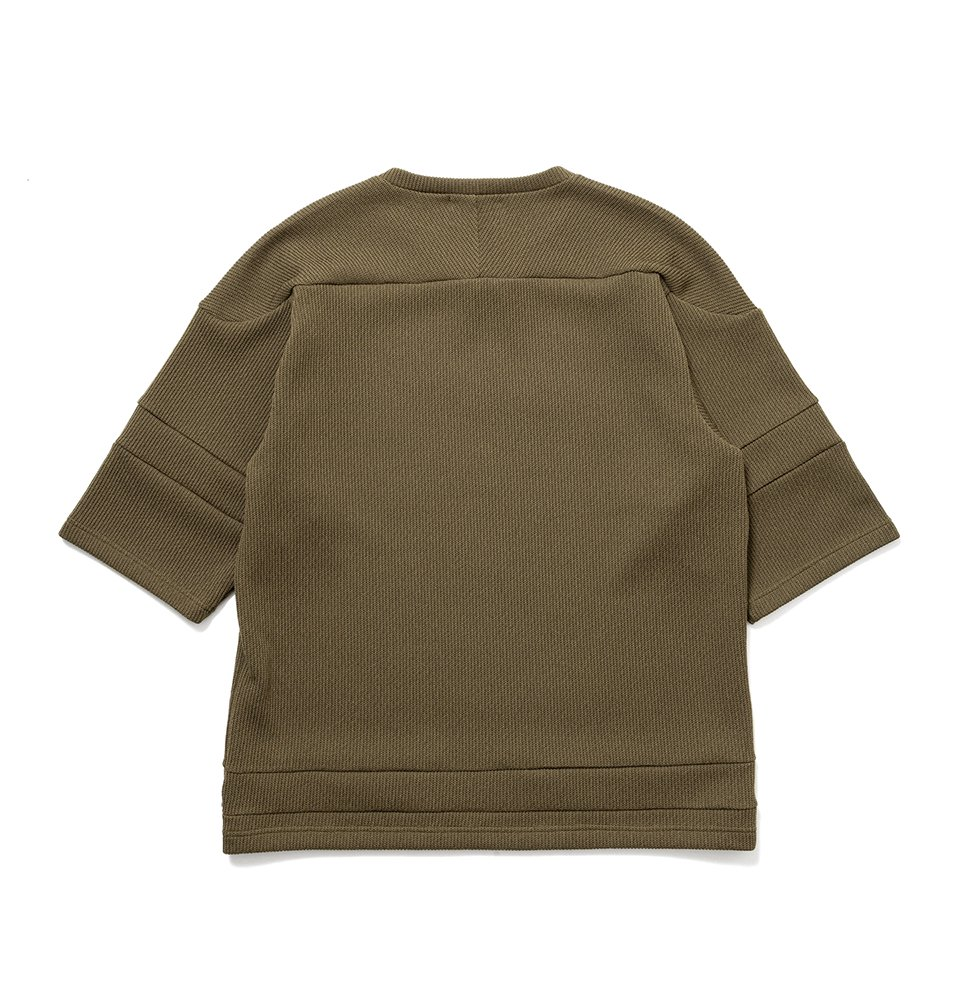 knitball Tee(OLIVE)