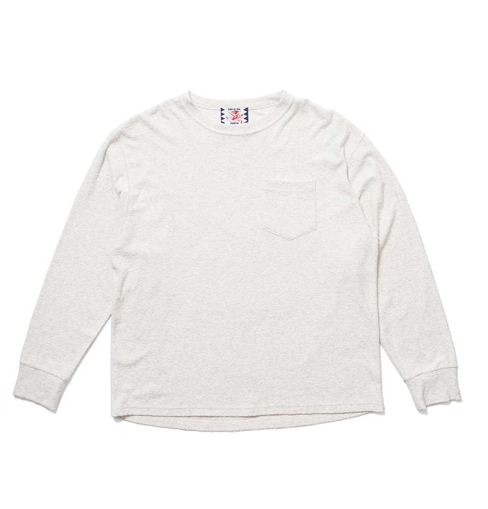 PILE LS TEE(OFF WHITE)