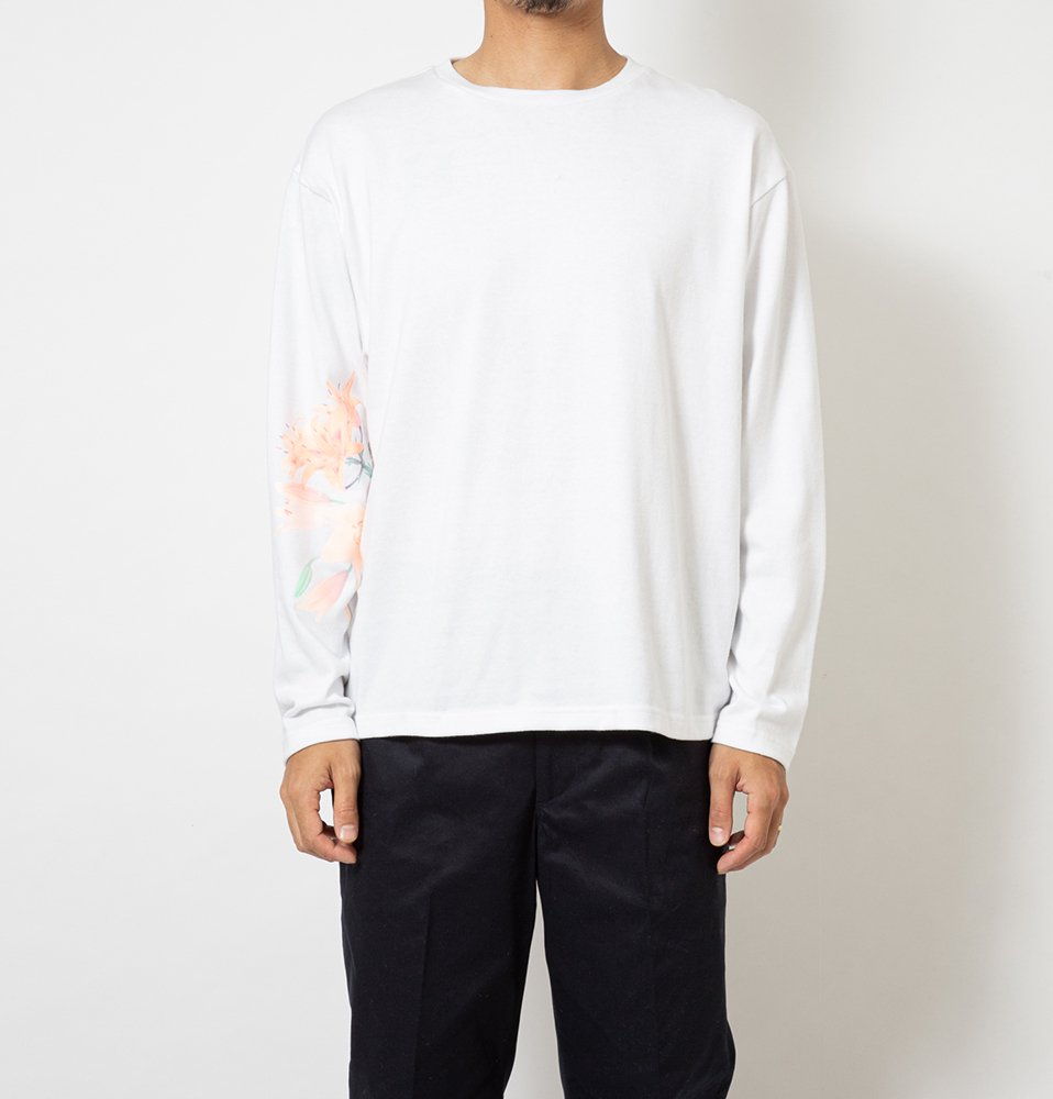 Lily LS Tee(WHITE)