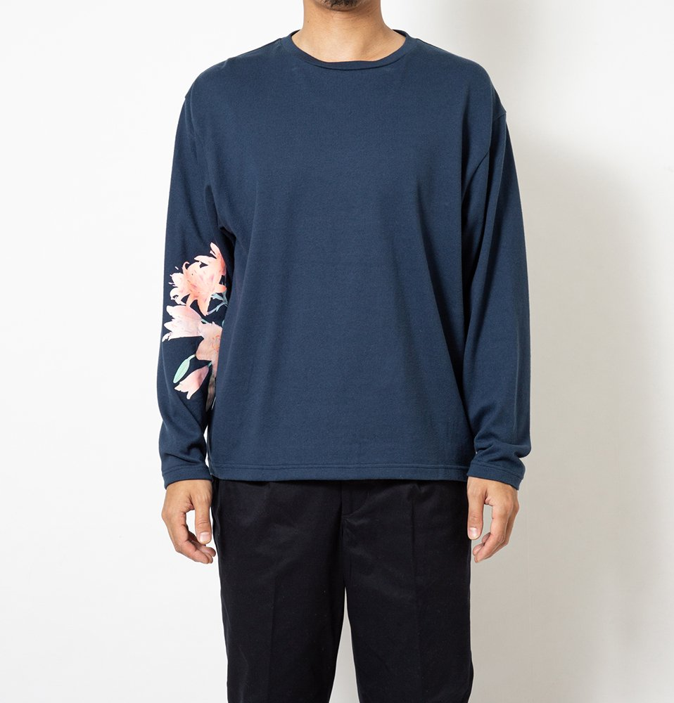 Lily LS Tee(NAVY)