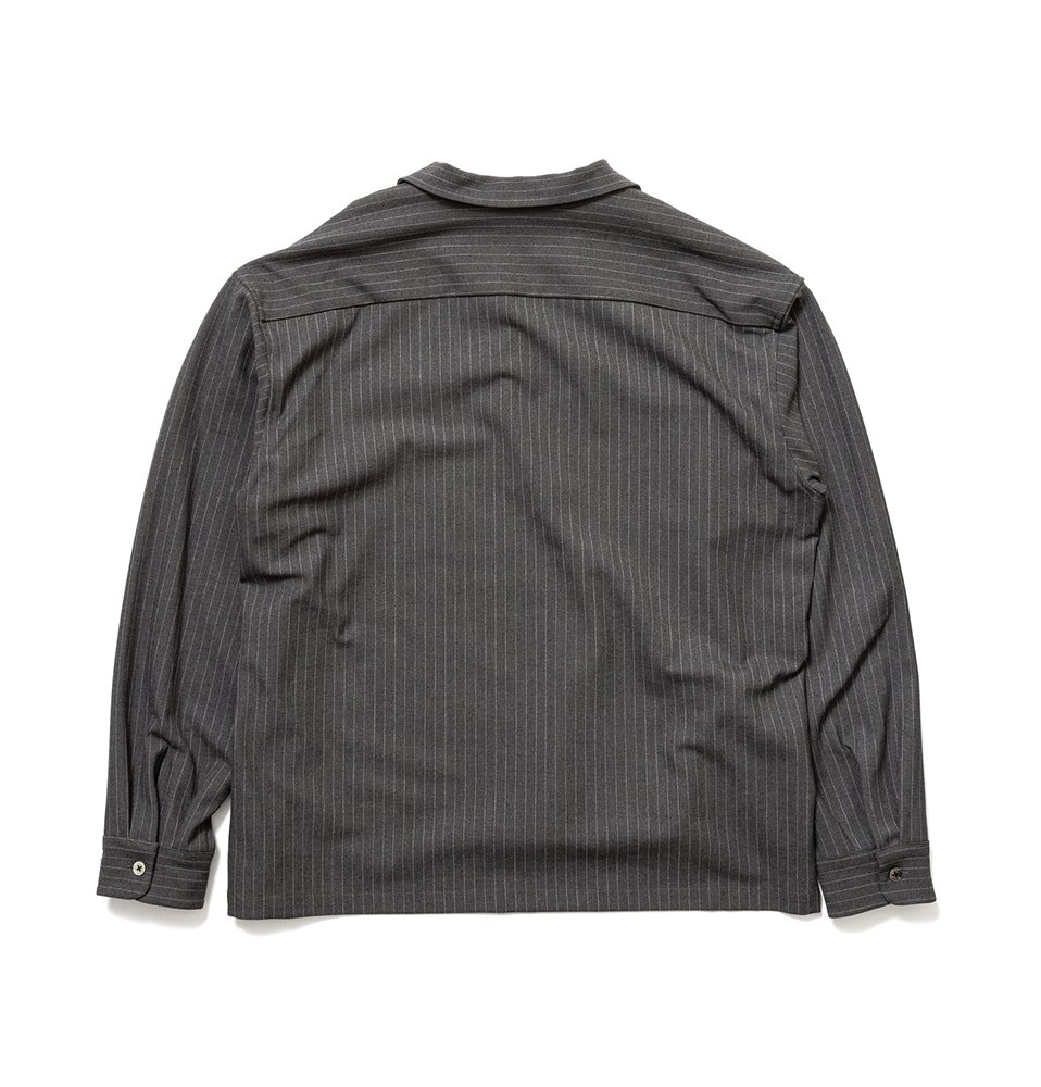 FLAP P/O Shirt(GRAY)