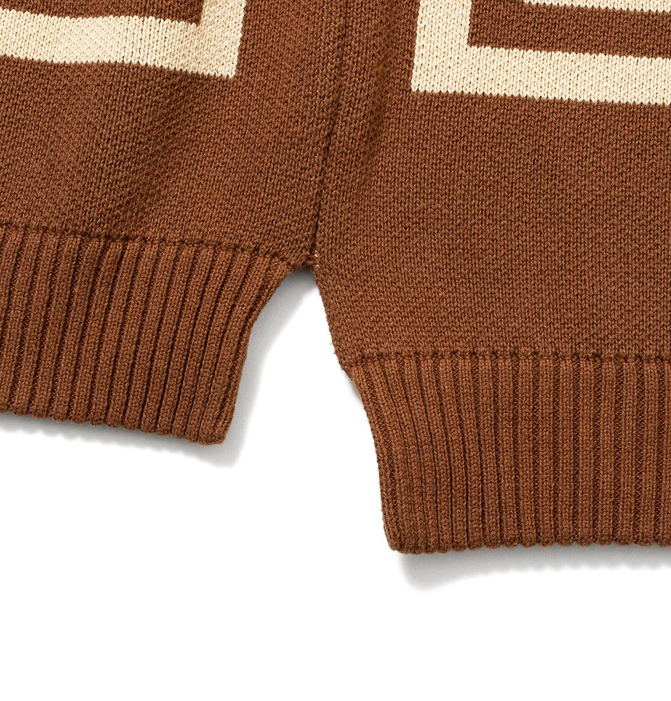 SQUARE KNIT(BEIGE)