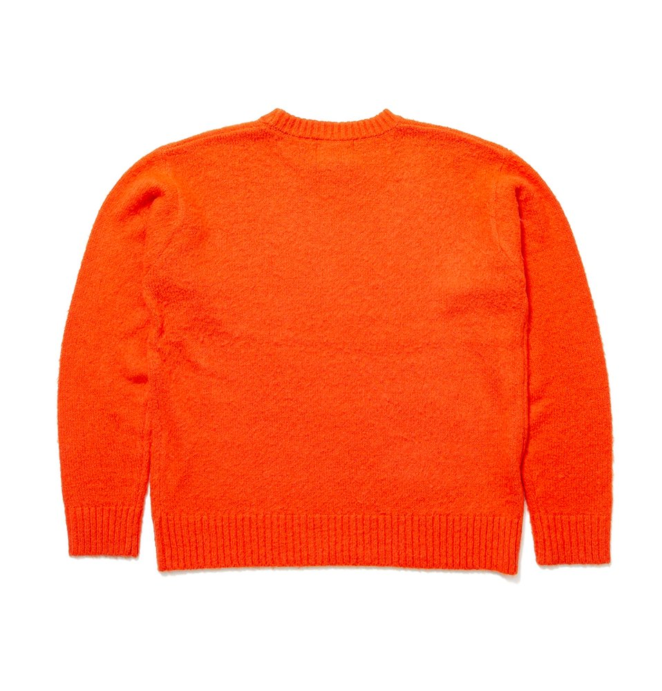 MOHAIR CREWNECK(ORANGE)
