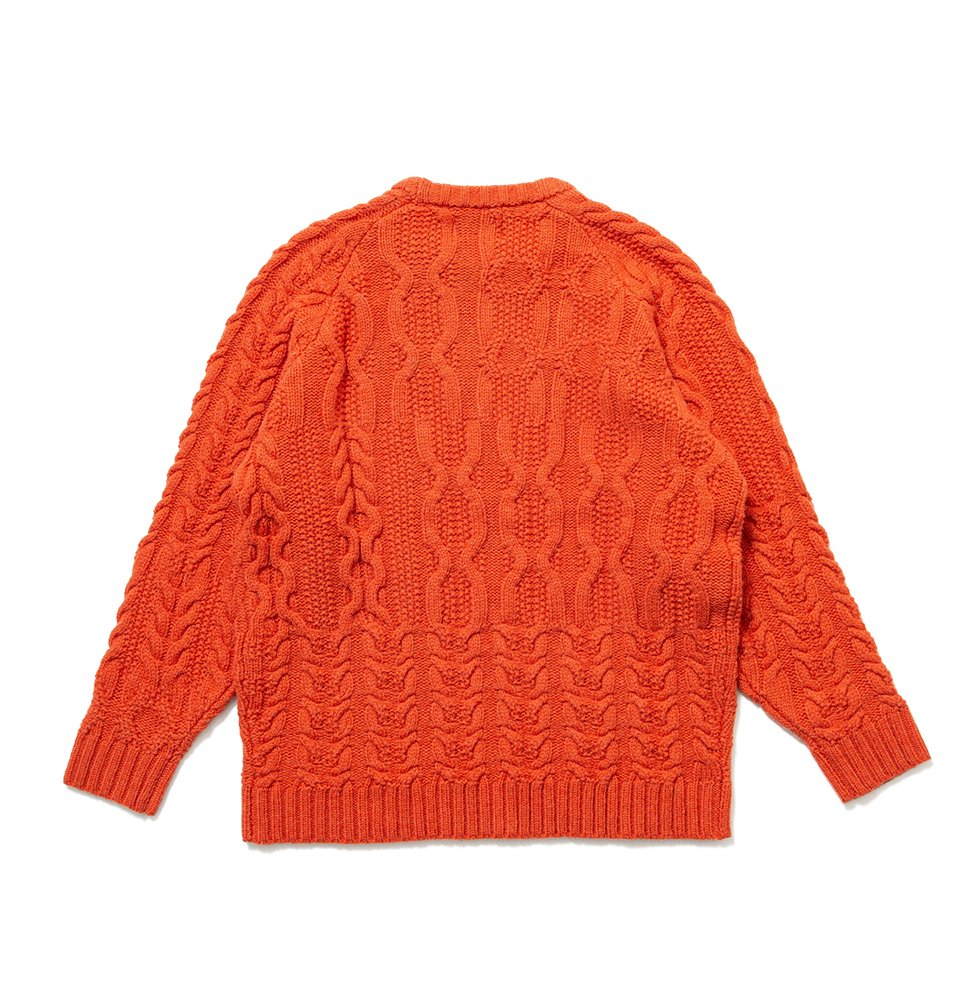 Fisher knit(ORANGE)
