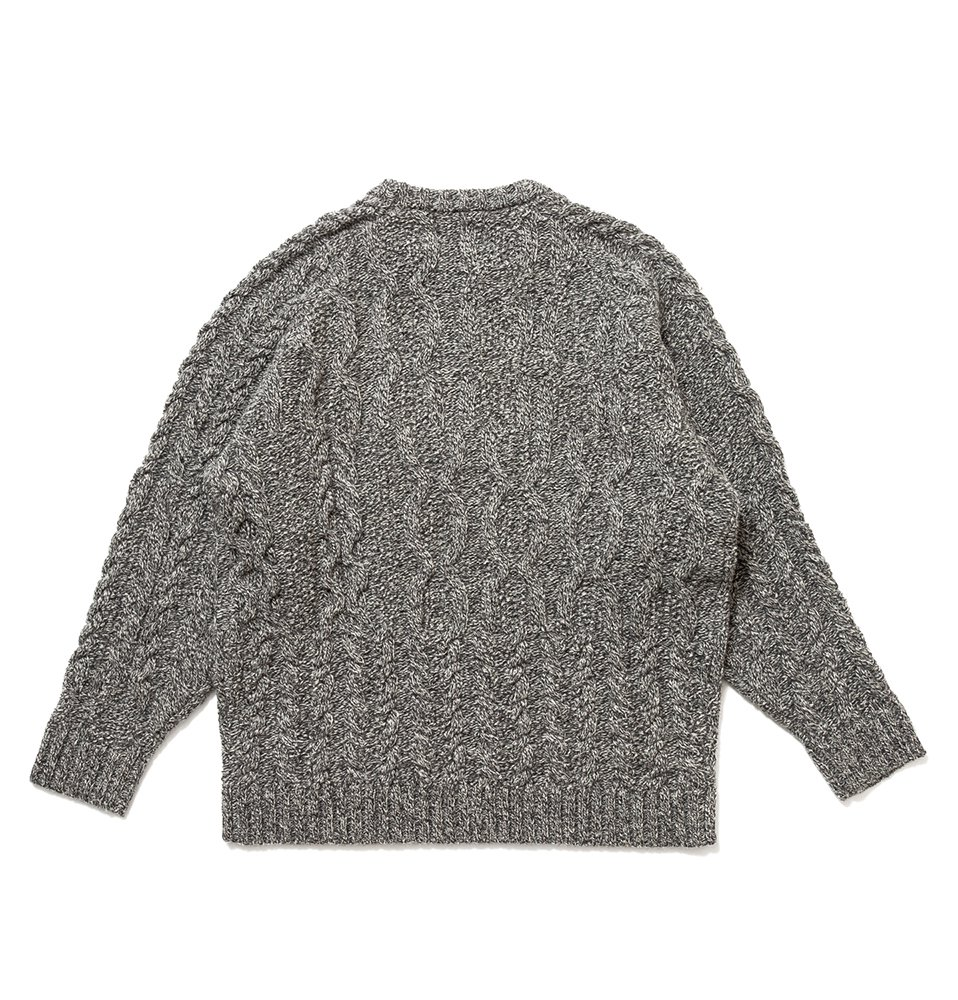 Fisher knit(GRAY)