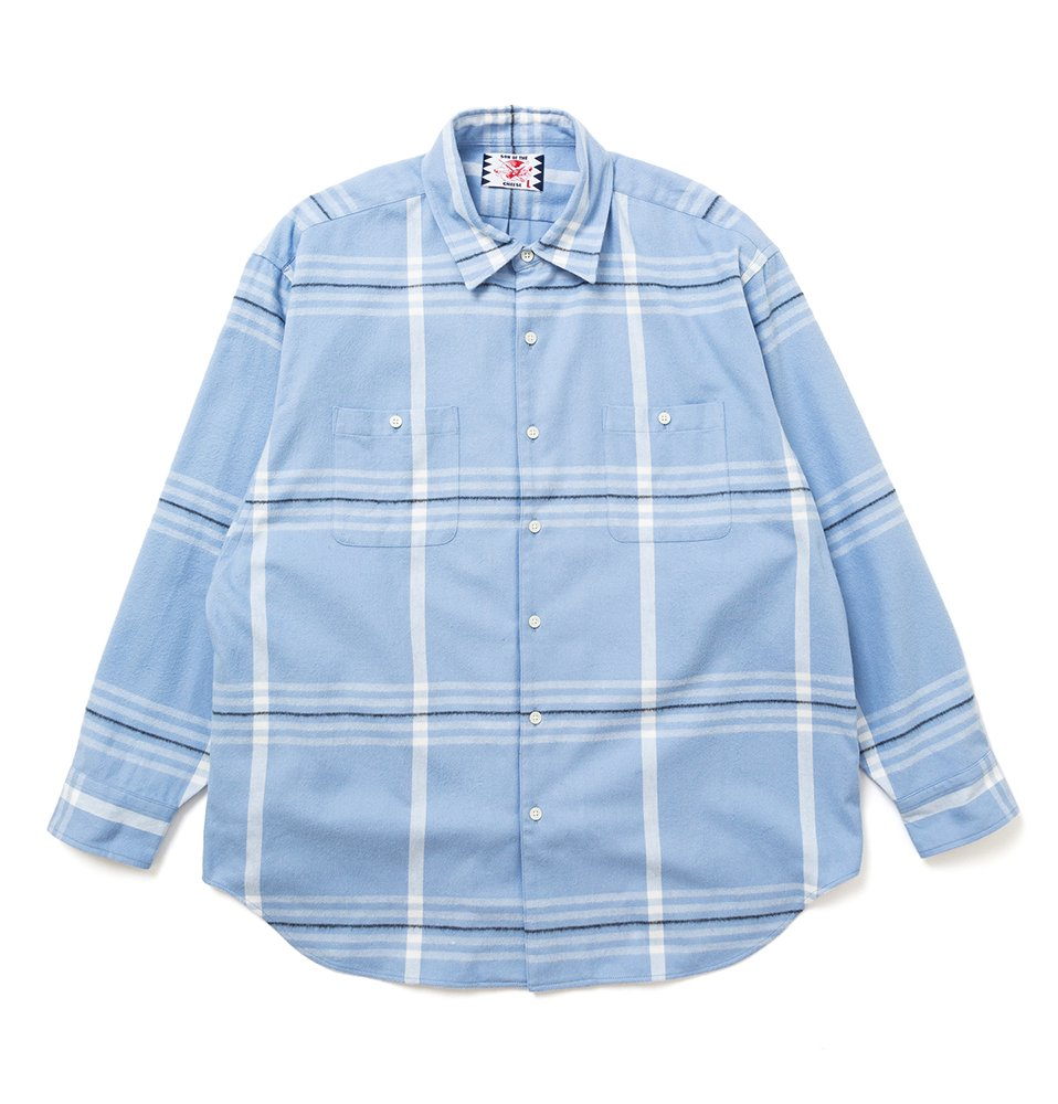 Big Check Shirt(BLUE CHECK)