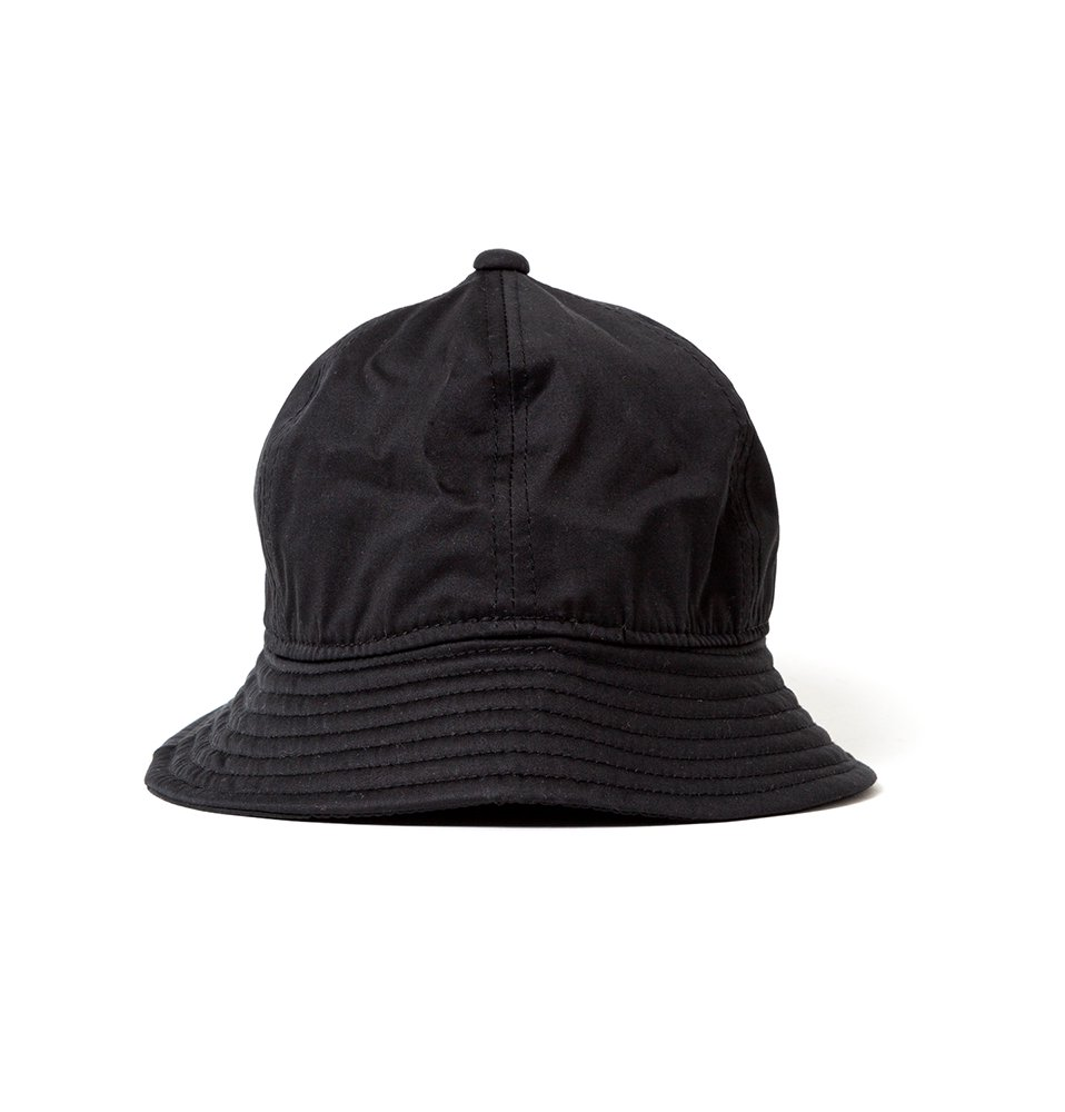 Satin Pickles hat(BLACK)