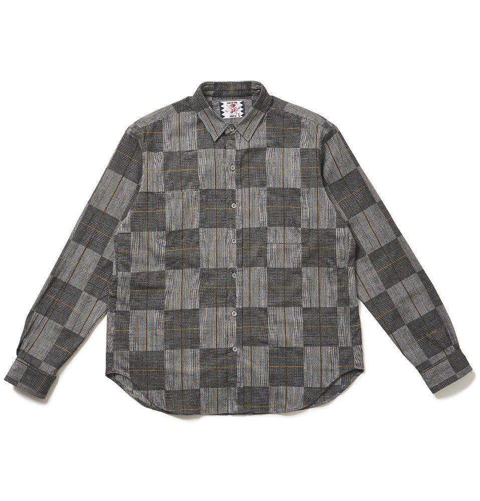 Arm Knit Shirt(GRAY)