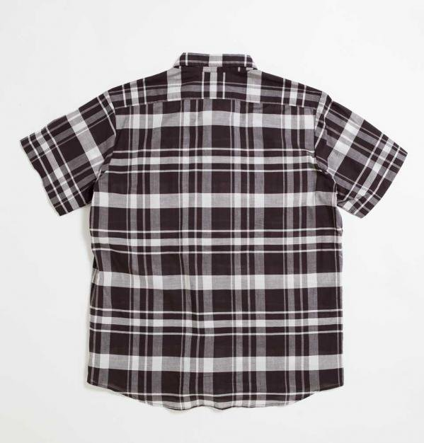 BLOCK CUBA shirt(BROWN)