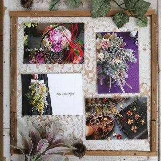 厳選♡お花と木の実のポストカード