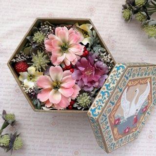 【キット/完成品】【送料無料】花語りBOX 森の幸せな時間