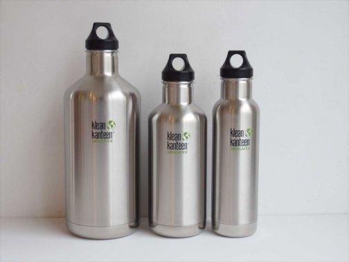 屋外で:大きめの保温・保冷水筒