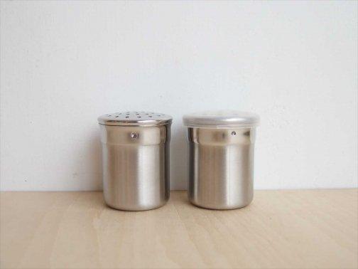 台所で:ステンミニ容器 粉用