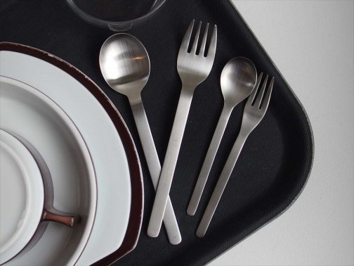 飲食に:機内食カトラリー