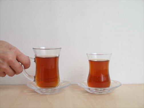 飲食に:トルコのチャイグラス