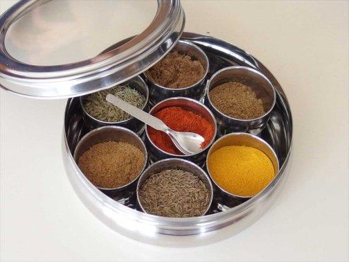 kitchen:7種スパイスケース