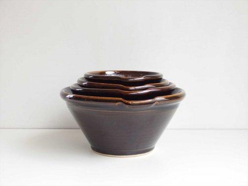 飴釉すり鉢