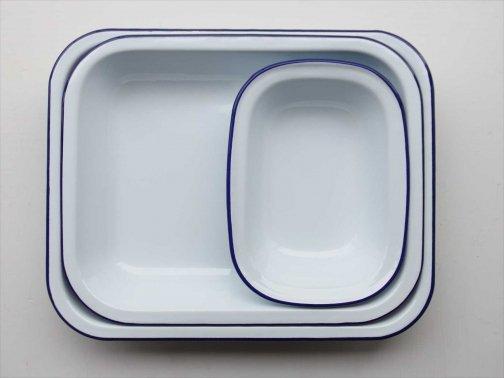 飲食に:ホーローオーブン皿