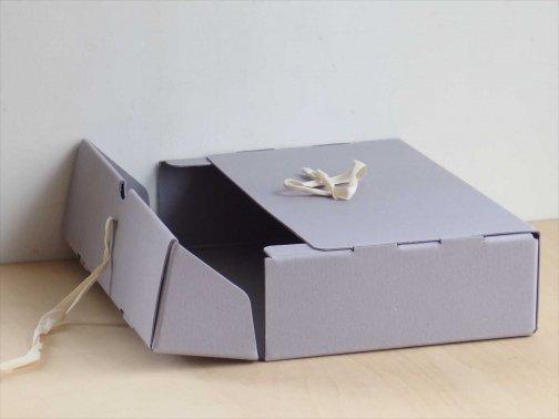 その他:ドキュメントボックス 薄紫