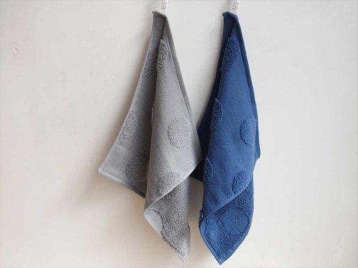 台所で:お手拭きタオル