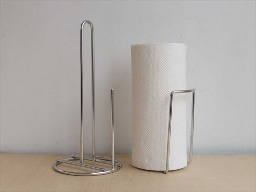 台所で:シンプルペーパーホルダースタンド