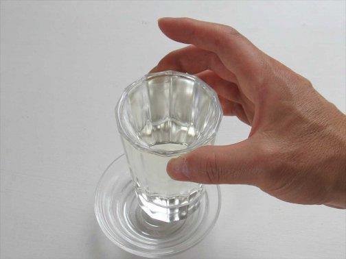 飲食に:厚口グラス