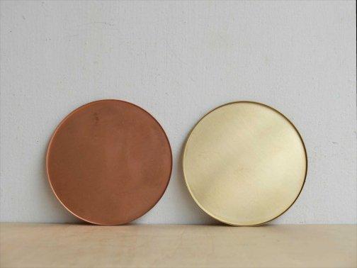 飲食に:銅と真鍮コースター