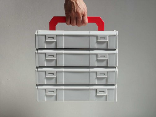 PLASTIC CONNECTABLE TOOL BOX