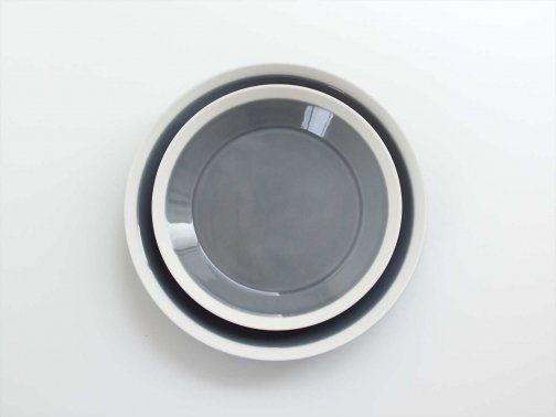 dishes plate/fog gray