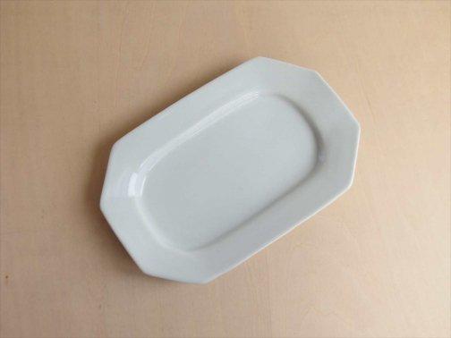 八角楕円皿