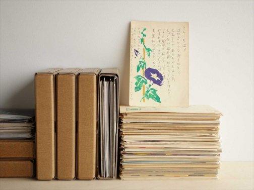 ハガキと写真の保存箱