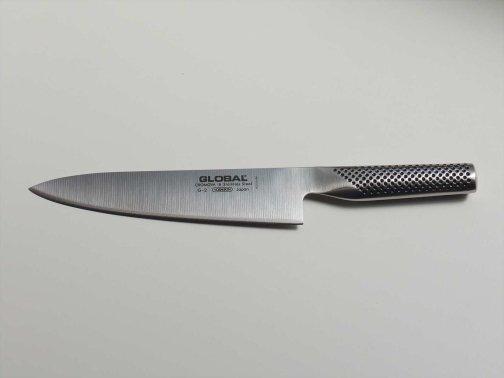 台所で:牛刀
