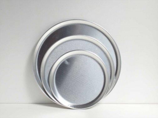 飲食に:アルミ丸プレート皿