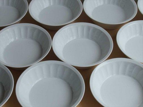 飲食に:白磁切立鉢
