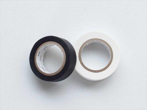 白・黒マスキングテープ