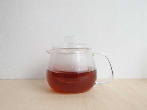 飲食に:耐熱ガラス製ティーポット