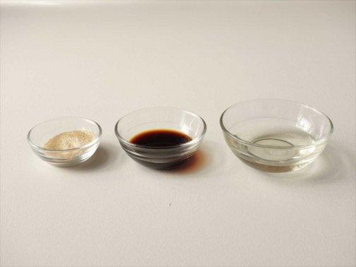 台所で:調理ガラスボウル