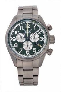 AIRACOBRA P45 Chronograph quartz  green
