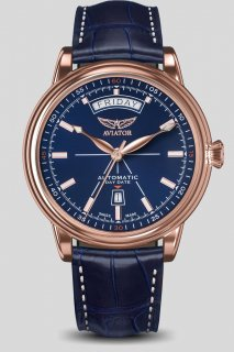 DOUGLAS DAY-DATE Automatic RoseGold PVD