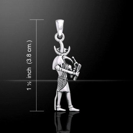 【PETER STONE】古代エジプト神様 トト(ジェフティ)神 シルバー ペンダントトップ【メール便対応】