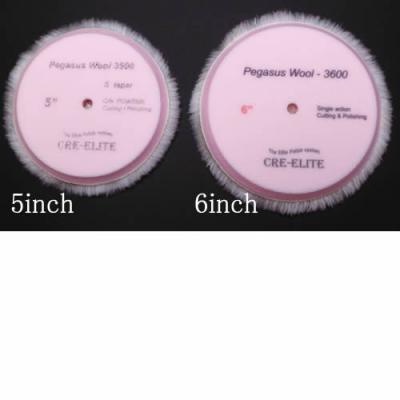 pegasus wool single pink 3000 6inch 3600 オート ディテイリング