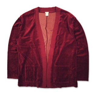 NO BUTTON CARDIGAN 923-027 WINE