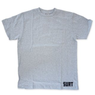 US COTTON  ONEITA SURT POCKET TEE  A H/GRAY