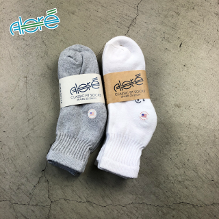 【Alore】 Made in U.S.A.    3pcs   Quarter Socks  [2カラー×2サイズ]