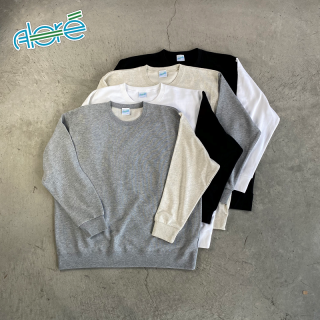 【Alore】 Switch Sleeve Sweatshirt [4カラー×1サイズ]