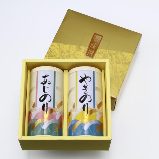 丸缶入 カット海苔 (各全型25枚分)