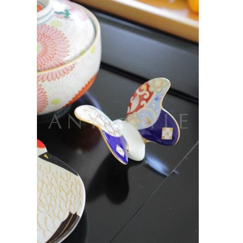 【有田焼】お箸置き 蝶々