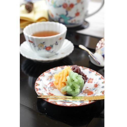 【有田焼】色絵梅菊文小皿